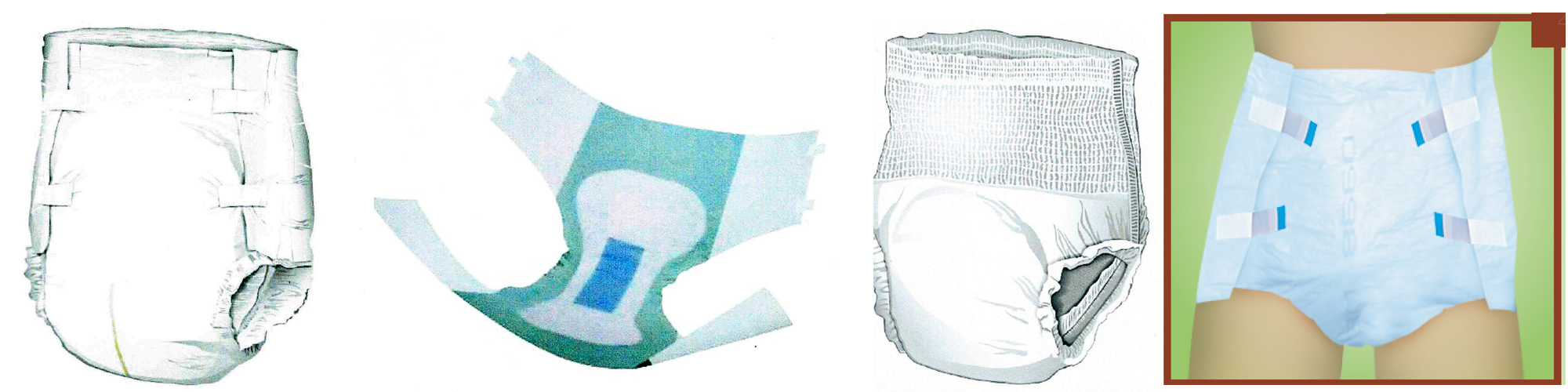 Types of Adult Disposable Briefs and Undergarments