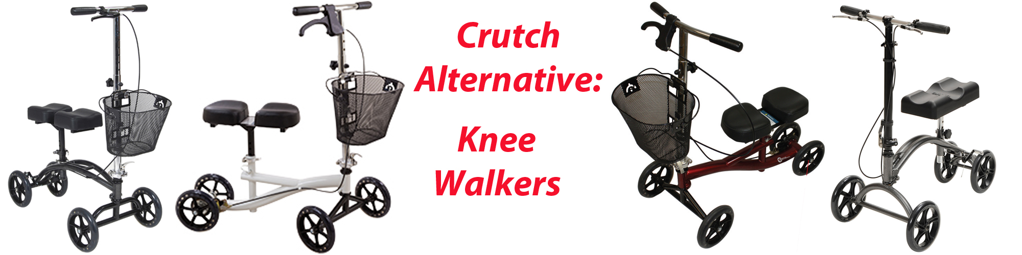 Types of Knee Walkers